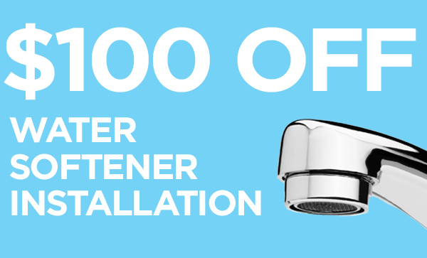 $100 Off Water Softener Installation