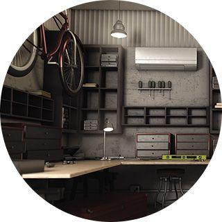 Ductless Mini-Split Harleysville, PA Garage