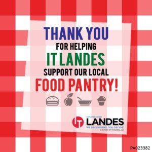 IT-Landes-Food-Bank-Donation