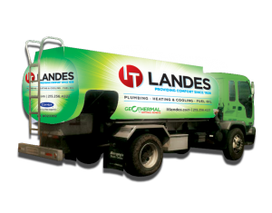IT Landes oil truck - fuel oil delivery service