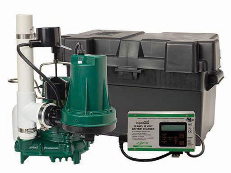 Standard Capacity Sump Pump Battery Backup